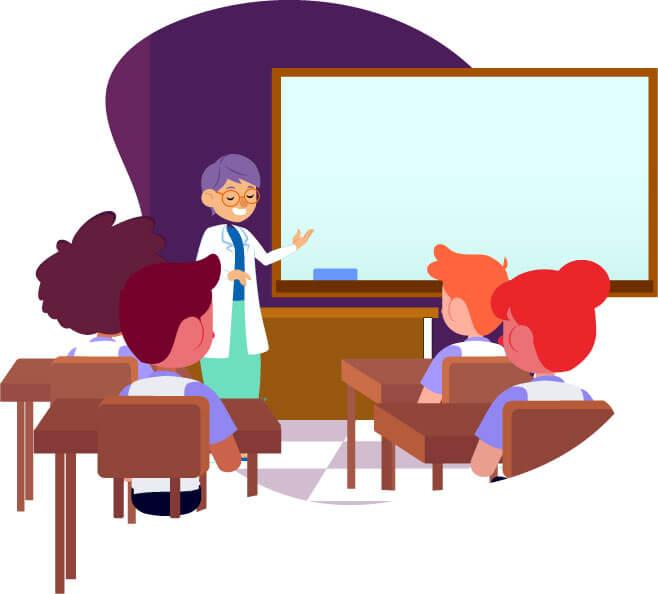 Ilustrações do projeto Escola Nacional de Seguros