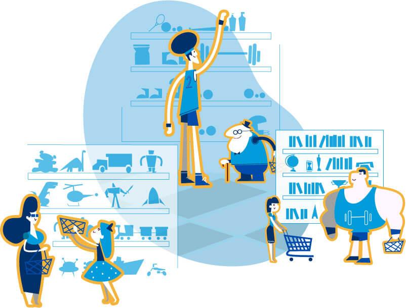 Ilustrações do projeto Yourviews