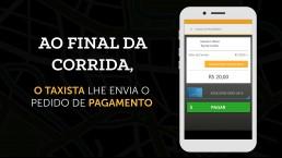 tela conceito vídeo easy taxi